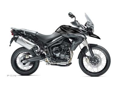 2013 Tiger 800 XC ABS - Phantom Black