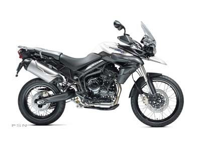2013 Tiger 800 XC ABS - Crystal White