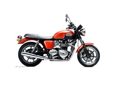 2012 Triumph Bonneville SE - Intense Orange