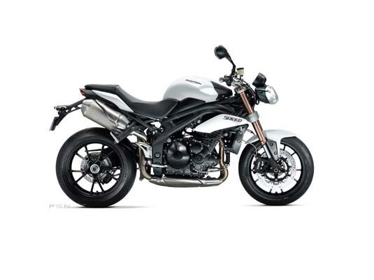 2013 Triumph Speed Triple ABS - Crystal White