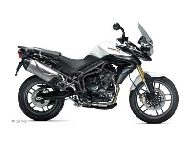2013 Tiger 800 ABS - Crystal White