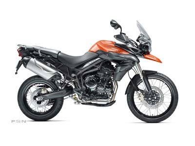 2012 Triumph Tiger 800 XC ABS - Intense Orange