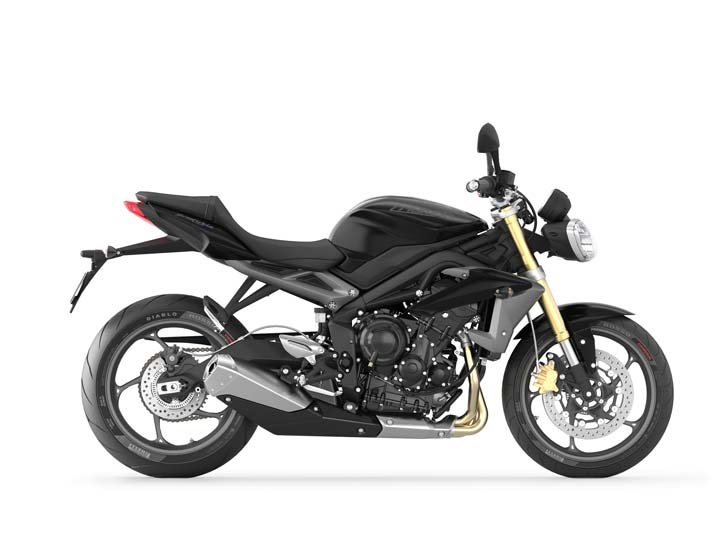 2013 Triumph Street Triple ABS - Phantom Black