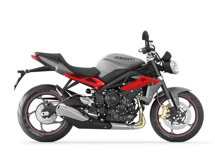 2013 Triumph Street Triple R ABS - Matte Graphite