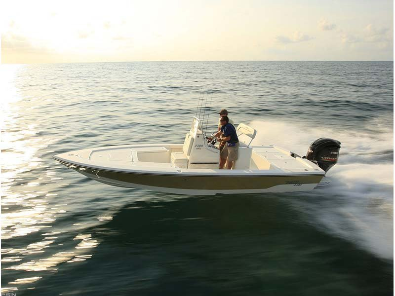 Brand New Model.  Featuring the new Yamaha High Output VMAX 250 Four Stroke.