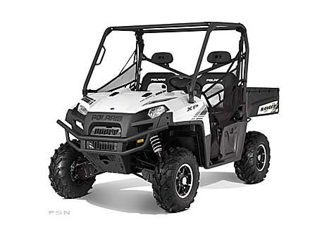 2012 Polaris Ranger XP� 800 Pearl White LE