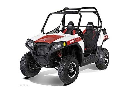 2012 Polaris Ranger RZR 800 White Lightning / Red LE