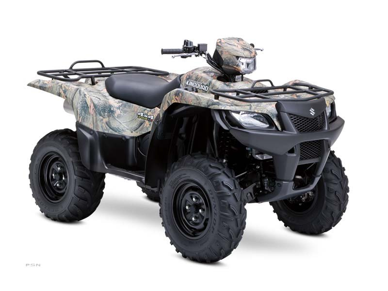 2012 Suzuki KingQuad 750AXi Camo