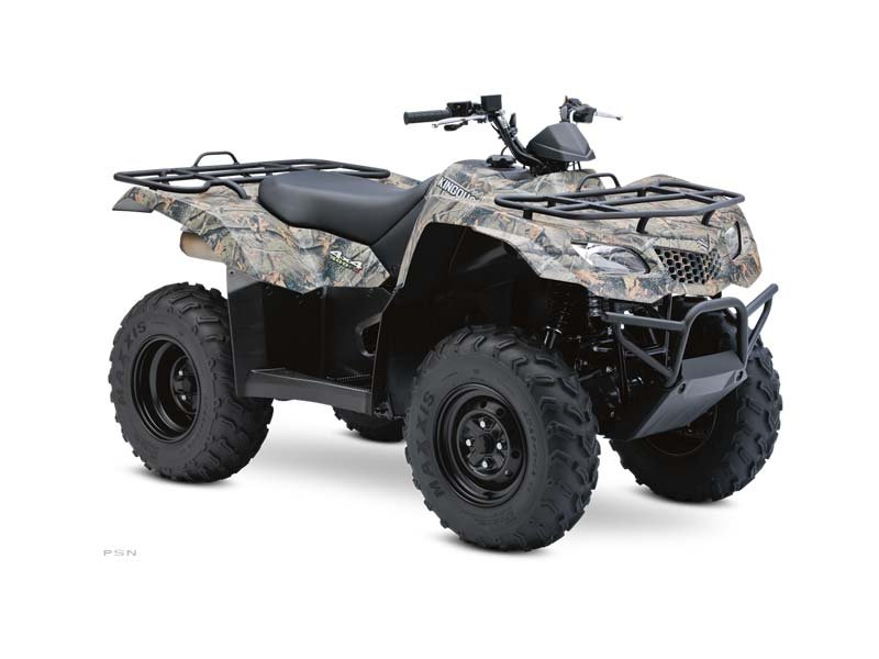 SAVE $1000.00 OR 2.99% FINANCING ON THIS 2013 CAMO 400 KING QUAD THRU JAN 2015