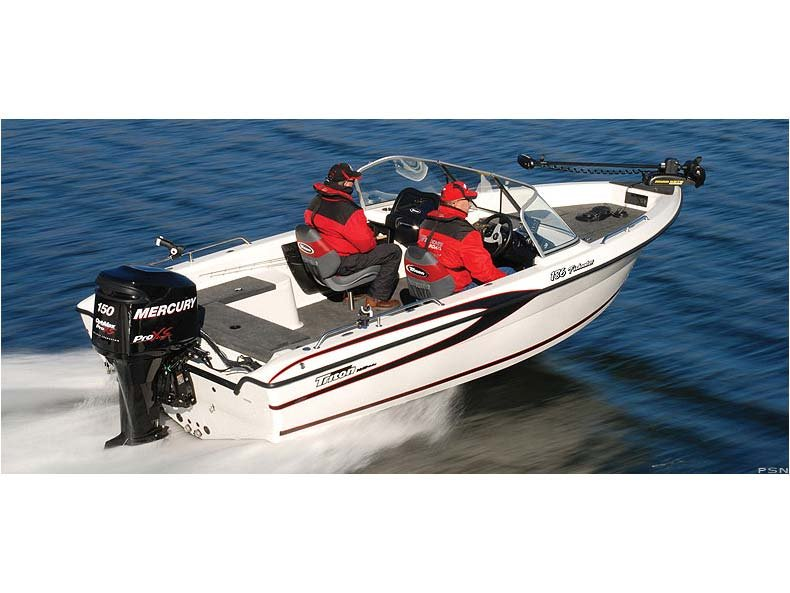 2012 Triton Boats 186 Fishunter