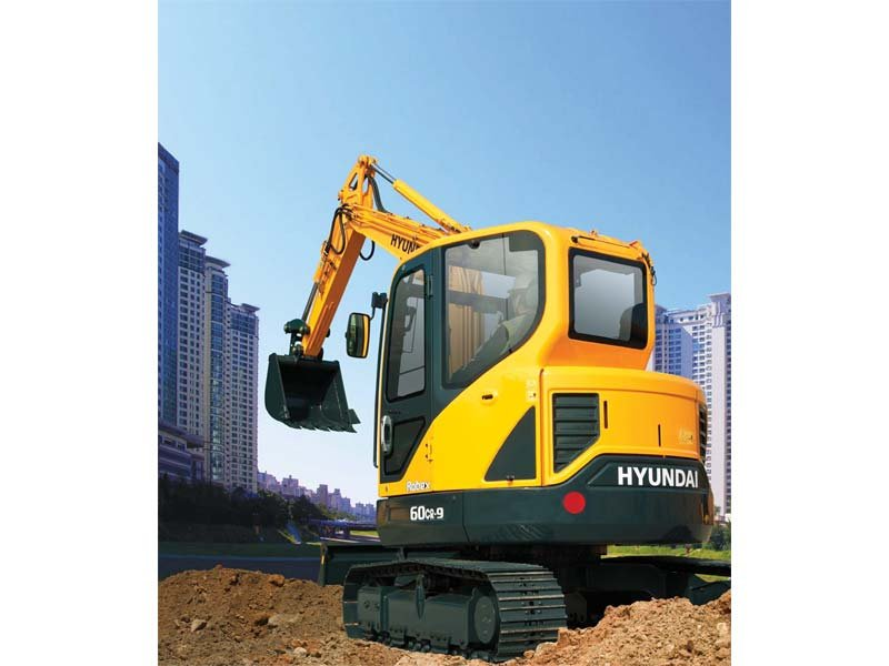 2013 Hyundai Construction R60CR-9