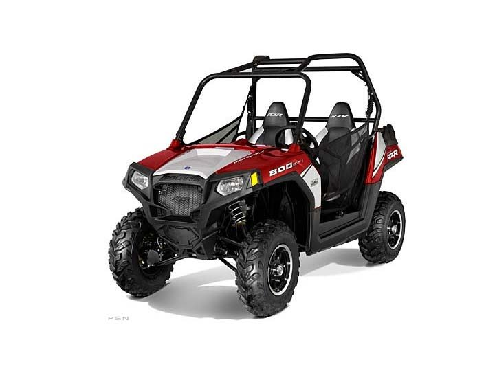 2012 Polaris Ranger RZR 800 EPS Sunset Red LE