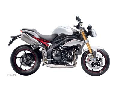2013 Triumph Speed Triple R ABS - Crystal White
