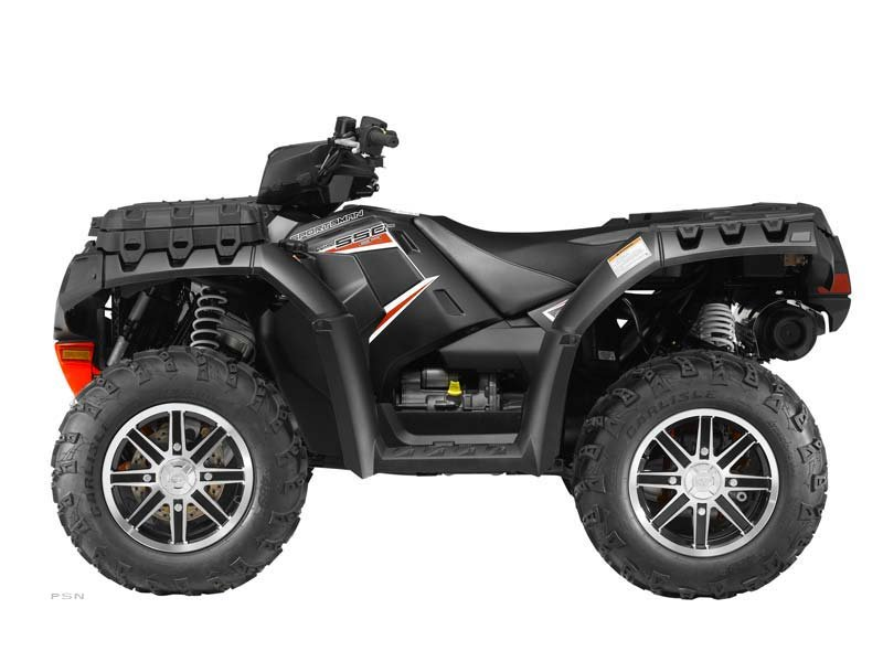 2013 Polaris Sportsman 550 EPS Stealth Black LE