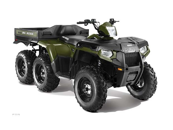 2013 Polaris Sportsman 800 Big Boss 6x6