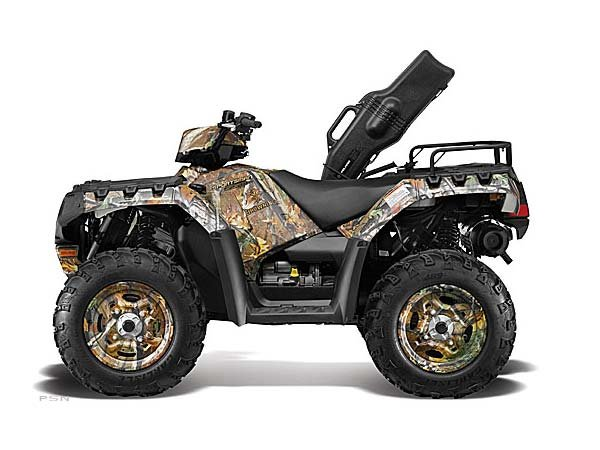2013 Polaris Sportsman 550 Browning Pursuit Camo LE