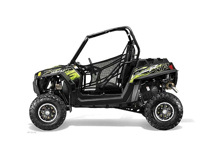 2013 Polaris Ranger RZR XP 900 EPS LE (Black / Green)