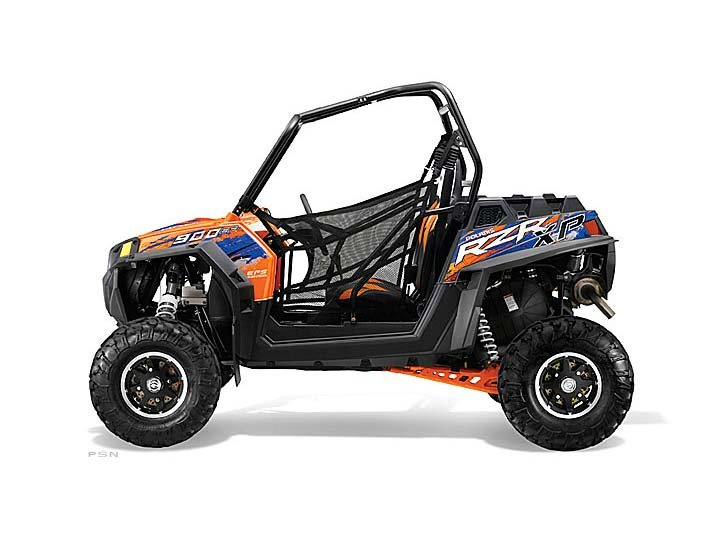 2013 Polaris Ranger RZR XP 900 EPS LE (Orange / Blue)