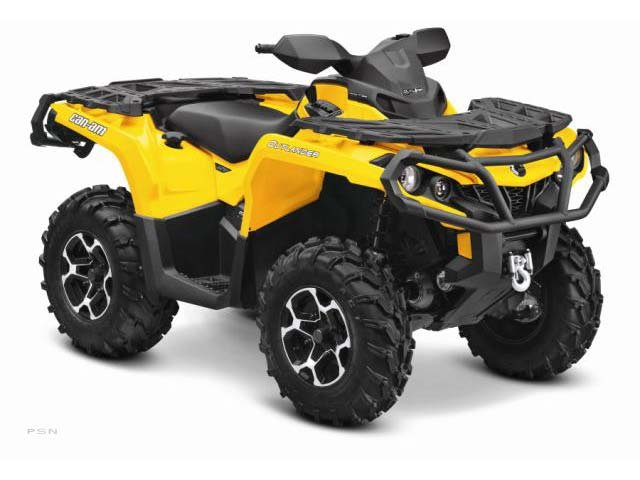 2013 Can-Am Outlander XT 650