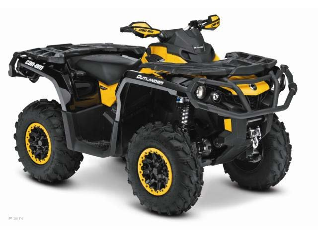 2013 Can-Am Outlander XT-P 800R