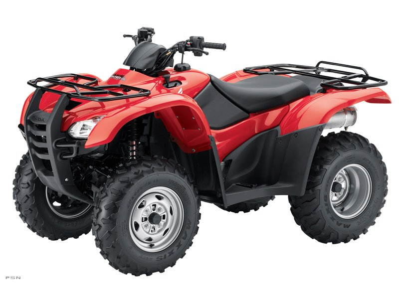 2013 Honda FourTrax Rancher 4x4 ES (TRX420FE)