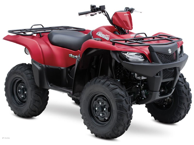 2013 Suzuki KingQuad 500AXi Power Steering 30th Anniversary Ed