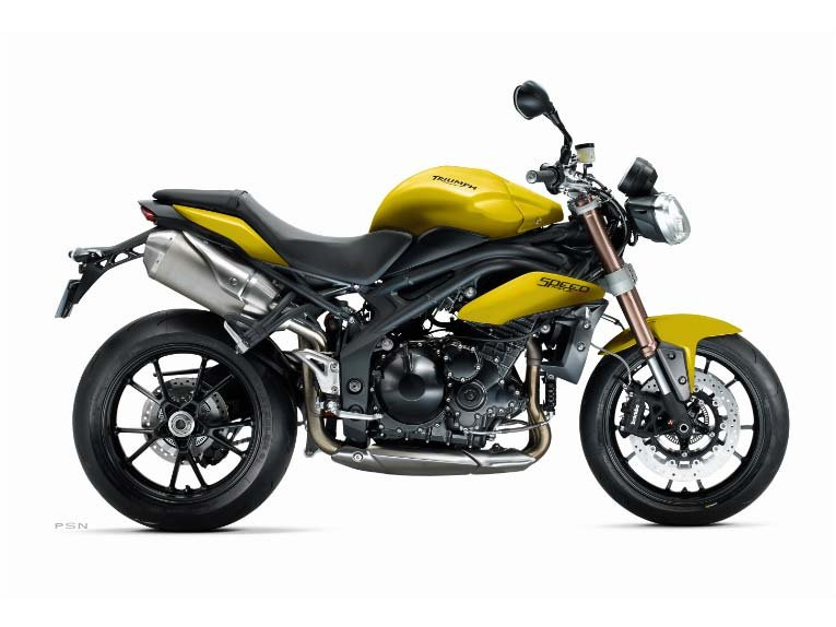 2013 Triumph Speed Triple ABS - Sulphur Yellow