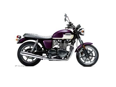 2013 Triumph Bonneville - Imperial Purple / Fusion White
