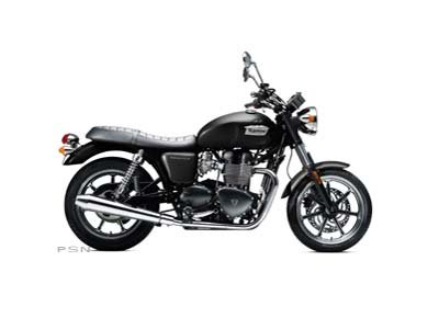2013 Triumph Bonneville - Phantom Black