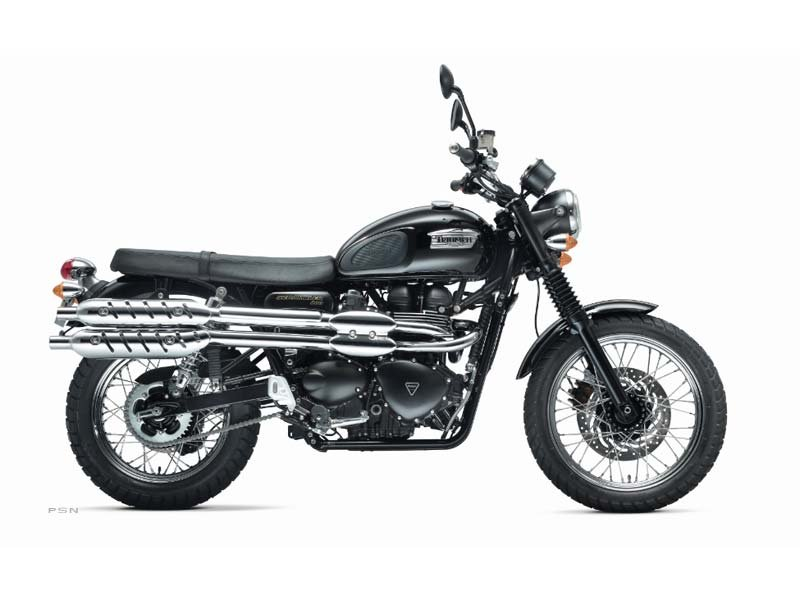 2013 Triumph Scrambler - Jet Black