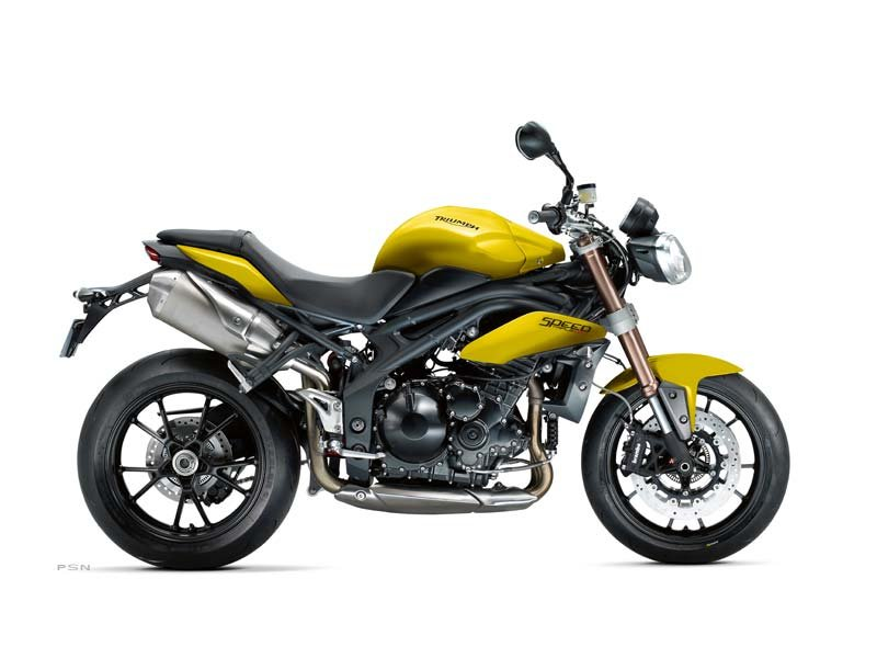 2013 Speed Triple ABS - Sulphur Yellow