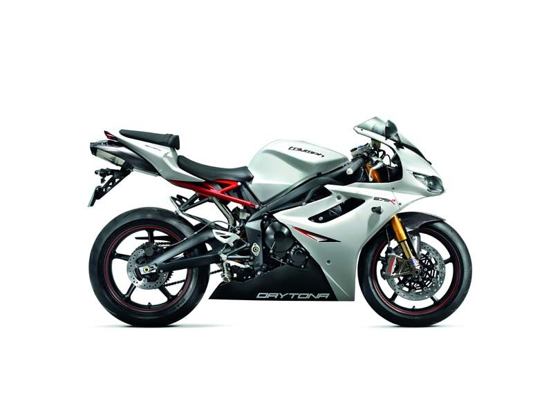 2013 Triumph Daytona 675R LE - Crystal White