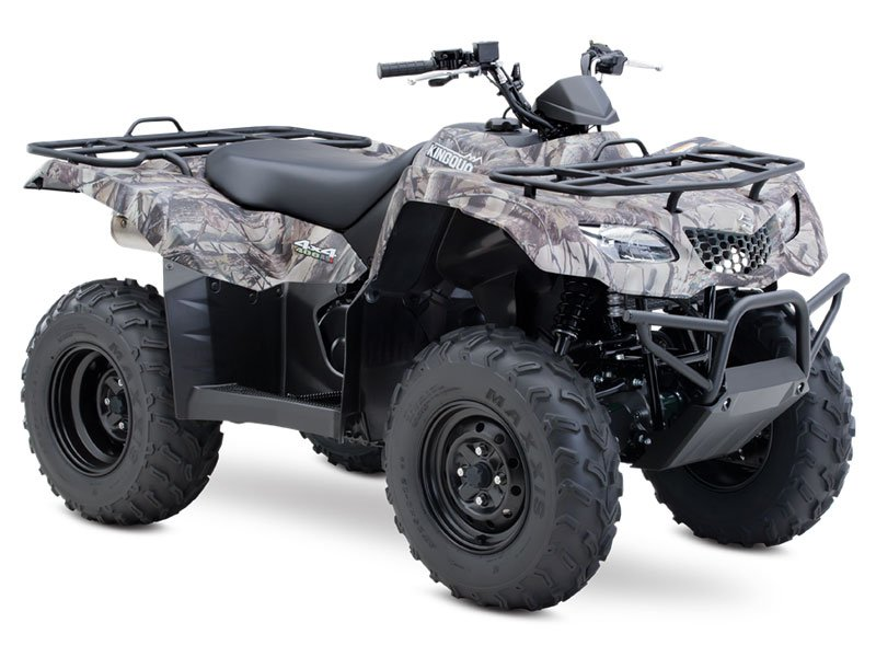 2013 Suzuki KingQuad 400ASi Camo