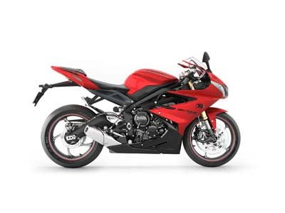 2013 Triumph Daytona 675 -  Diablo Red / Jet Black