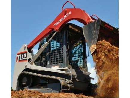 2012 TAKEUCHI TL10 Skid Steers, DEALER MAINTAINED, RENTAL UNIT, OROPS, 67