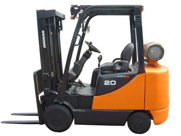 New Doosan GC25P-5LP Forklift
