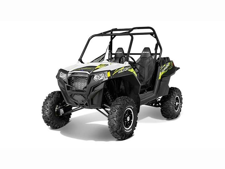 2013 Polaris Ranger RZR XP 900 EPS LE (White / Green)