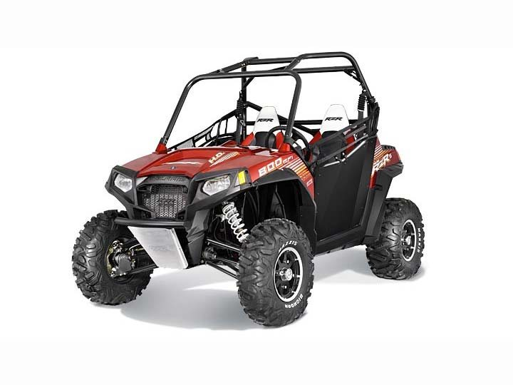 2013 Polaris Ranger RZR S 800 EPS Sunset Red LE
