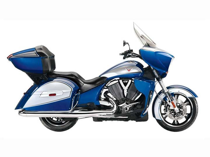 2014 Victory Cross Country Tour - Boardwalk Blue / Silver