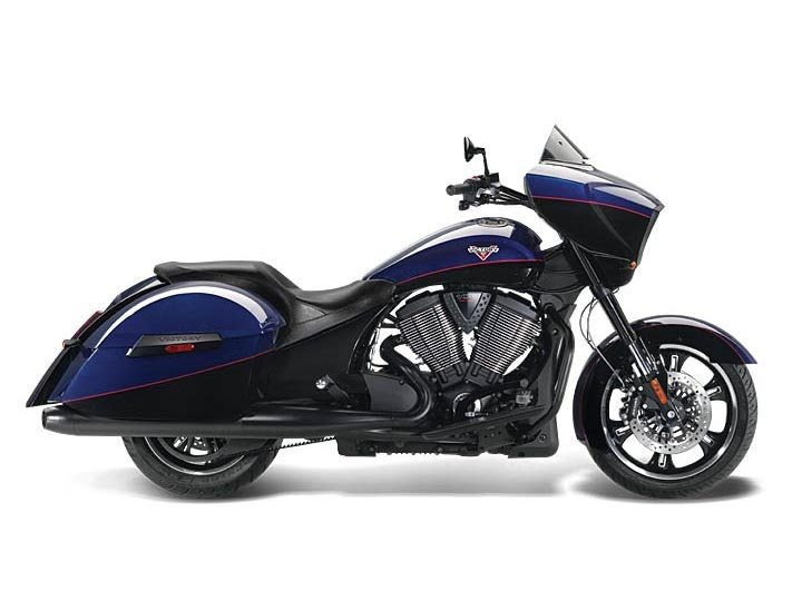 2014 Victory Cross Country� Boss Blue / Gloss Black