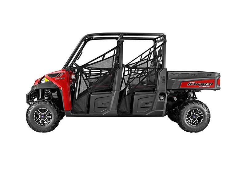 2014 Polaris Ranger® Crew 900 EPS Sunset Red LE