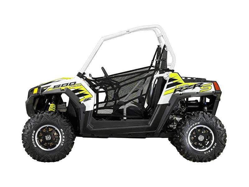 2014 Polaris Ranger RZR� S 800 EPS White Lightning LE