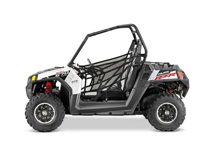 2014 Polaris Ranger RZR� 570 EPS - White Lightning LE