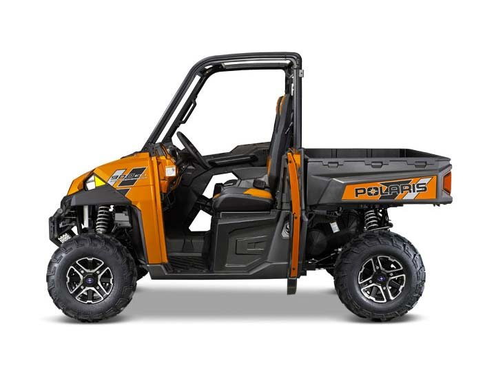2014 Polaris Ranger XP® 900 Deluxe - Nuclear Sunset Orange LE