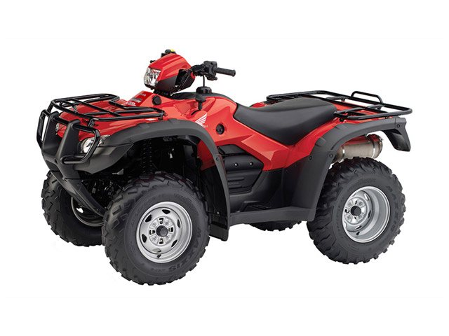 Honda TRX500PG CTE Rubicon  2014  C$8,993  Red ** 2015 NEW - Fully automatic electronically controlled hydromechanical with selectable ESP & reverse, Liquid Cooled, 2WD / 4WD