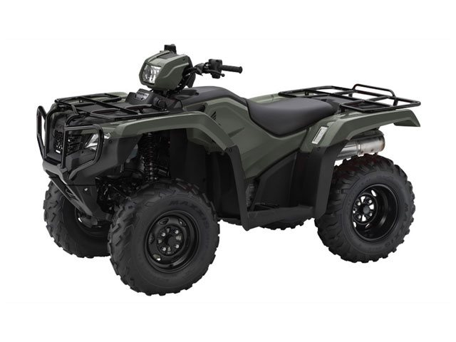 Honda TRX500FPM Foreman  2014  C$8,993  Green ** 2014 NEW - 4-stroke, OHV, 2-valve, fuel injection, Liquid cooled, 5 speed, 2X4/4X4