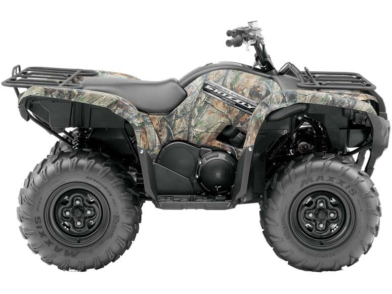 Yamaha Grizzly 550 FI EPS  2014  C$10,293  Realtree AP HD Camouflage **2014 NEW - 4-stroke, single, 4-valve, SOHC, electronic fuel injection, Liquid cooled, On-Command� 2WD / 4WD / 4WD DIFF