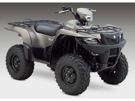 Suzuki KingQuad� 750AXi Power Steering Limited Edition  2014  C$9,883  Metallic Matte Royal Gray ** 2014 NEW - fuel-injected four-valve 722 cc engine, electric power steering, 4.6 gal fuel tank, 4-stroke