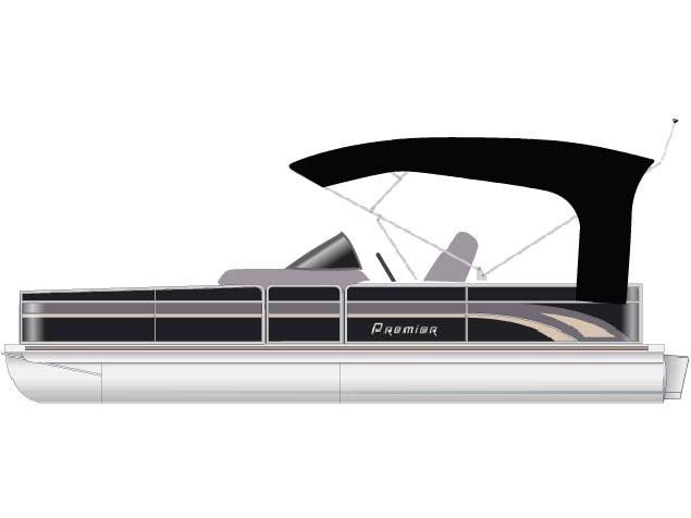 Performance like a runabout--ski, tube etc. in this very plush vessel. This ain't your granddad's putt putt pontoon!