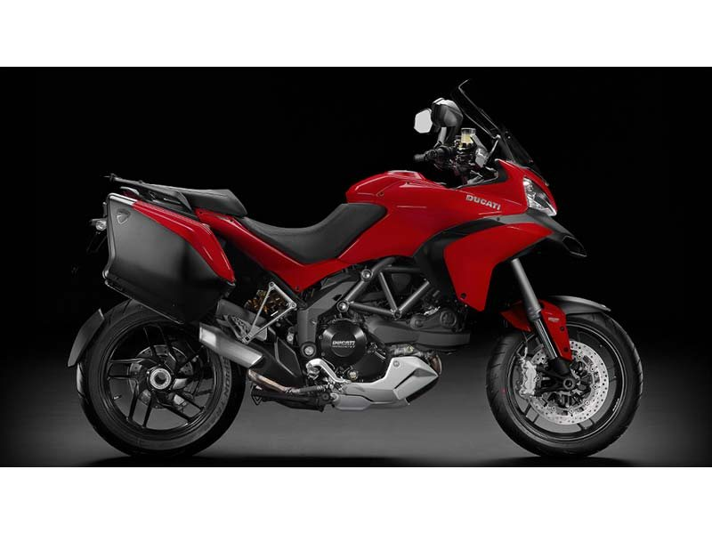 Used Multistrada 1200 S Touring with only 4000 miles